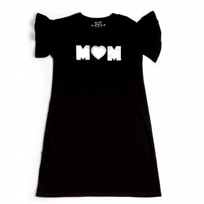 Šaty MOM čierne
