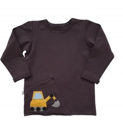 Tričko pískacie buldozér