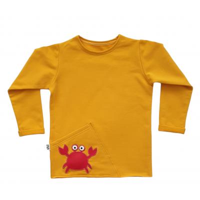 Tričko pískacie krab