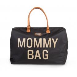 Taška MOMMY BAG black gold