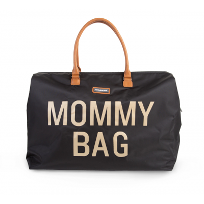 Taška MOMMY BAG black gold