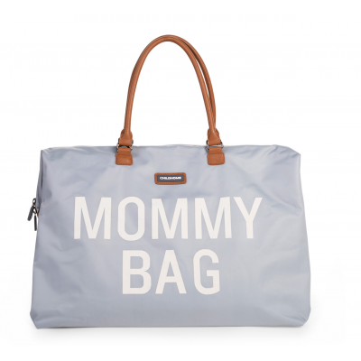 Taška MOMMY BAG grey off white