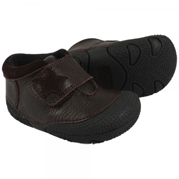 Topánky na prvé chodenie EN*FANT - čierna
