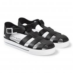 Sandále gumené EN FANT čierne