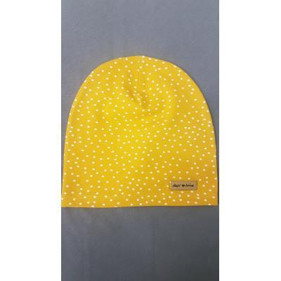Žltá guličková čiapka