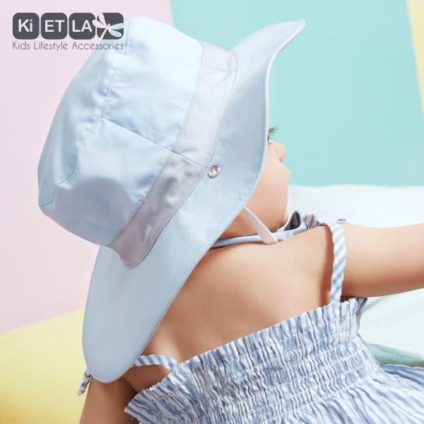 Obojstranný detský klobúčik s UV ochranou Kietla