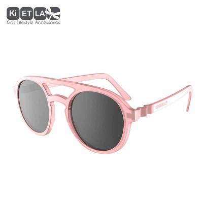 Slnečné okuliare KIETLA PiZZ 9-12 rokov ružové