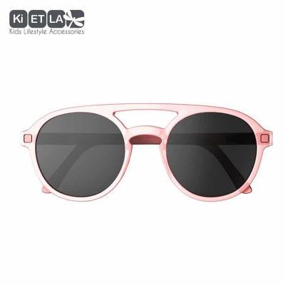 Slnečné okuliare KIETLA PiZZ 9-12r ružové