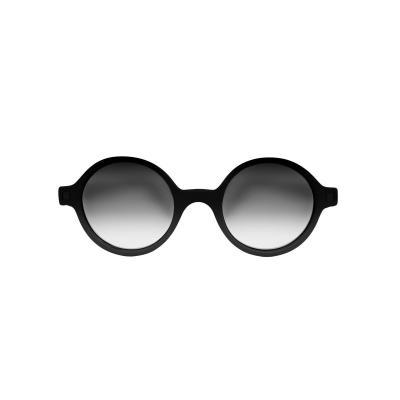 Slnečné okuliare KIETLA RoZZ 4-6rokov čierne zrkadlovky