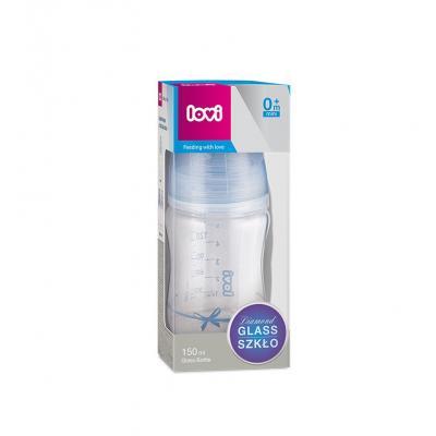 Lovi Dojčenská fľaša sklo Diamond Glass 150ml 0m+Baby Shower