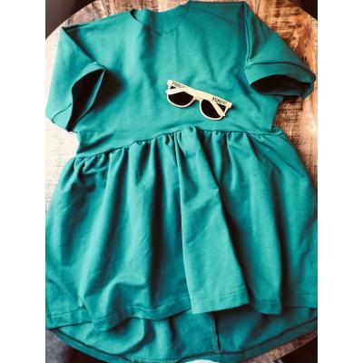 Šaty MINIOO zelené