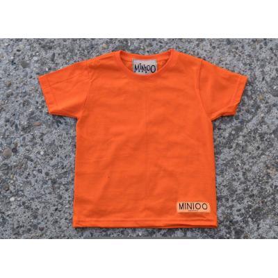 Tričko MINIOO oranžová
