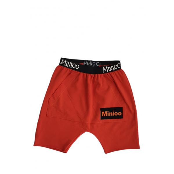 Krátke nohavice MINIOO oranžové