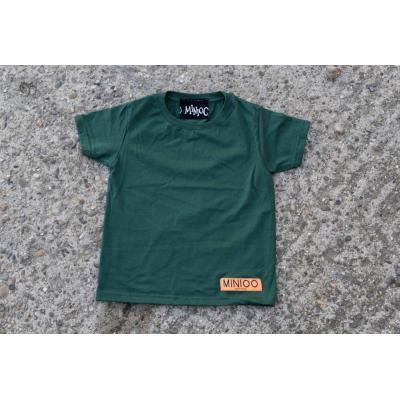 Tričko MINIOO  zelená