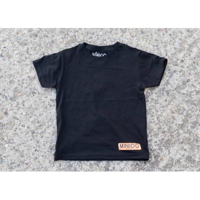 Tričko MINIOO čierna
