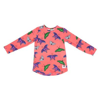 Tričko koralové motýle