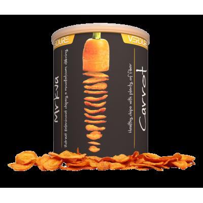 Zeleninové chipsy mrkva
