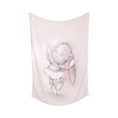 Bambusová deka ružová 70x95cm Effiki