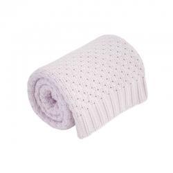 Bavlnená BABY deka ružová 75x90cm Effiki