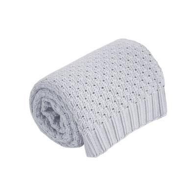 Bavlnená BABY deka šedá 75x90cm Effiki