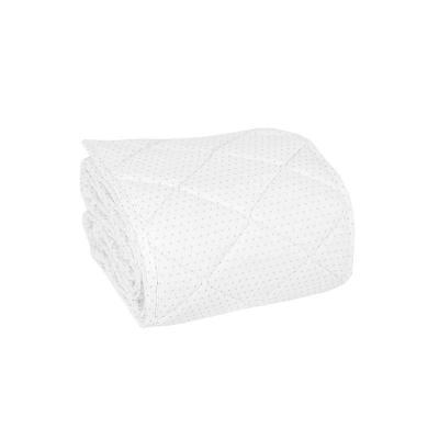 Hniezdo dvojfarebné biele/šedé bodky 70x140 cm Effiki