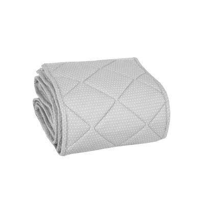 Hniezdo dvojfarebné šedé/biele bodky 60x120 cm Effiki