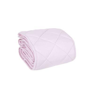 Hniezdo dvojfarebné ružové/šedé bodky 60x120 cm Effiki