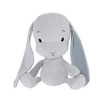 Effík Bunny L - šedá/modrá