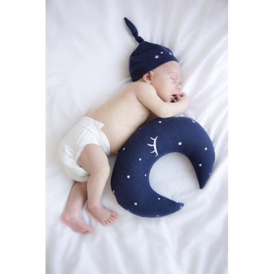Vankúš mesiac S námornícka modrá Effiki