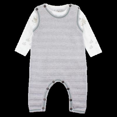Body set FIXONI -  grey melange
