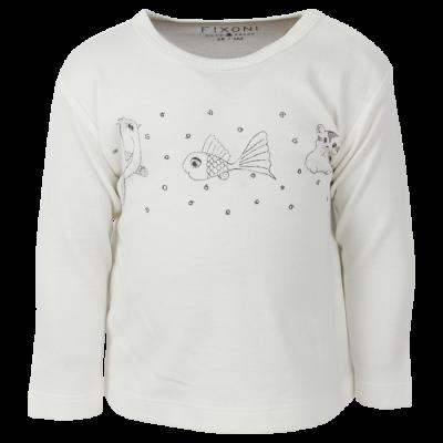 Tričko  FIXONI biele