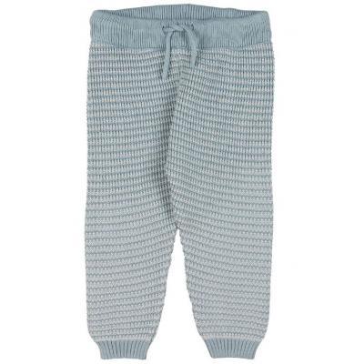 Nohavice pletené FIXONI modré