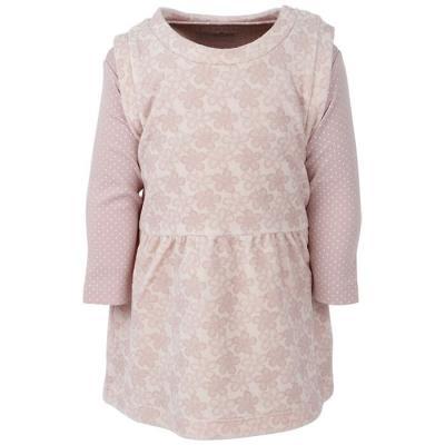 Šaty+body FIXONI ružové