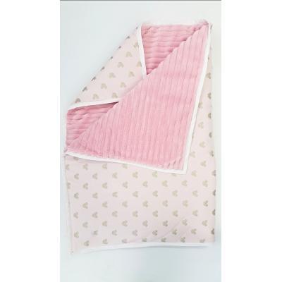 Handmade obojstranná deka
