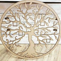 Drevený strom života s možnosťou fotiek
