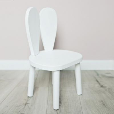 Drevená stolička BUNNY od LITTLE NOMAD - biela