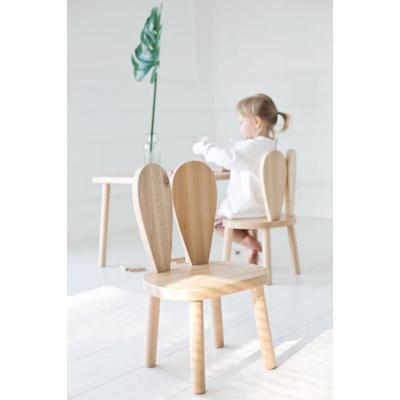 Drevená stolička BUNNY od LITTLE NOMAD - prírodná